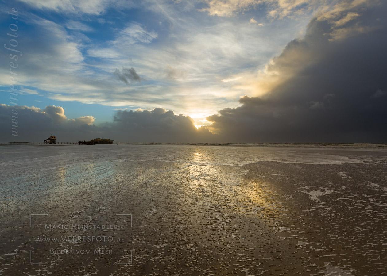 Strand Sonnenuntergang Und Wellen Hintergrundbilder 1440x900 Pictur
