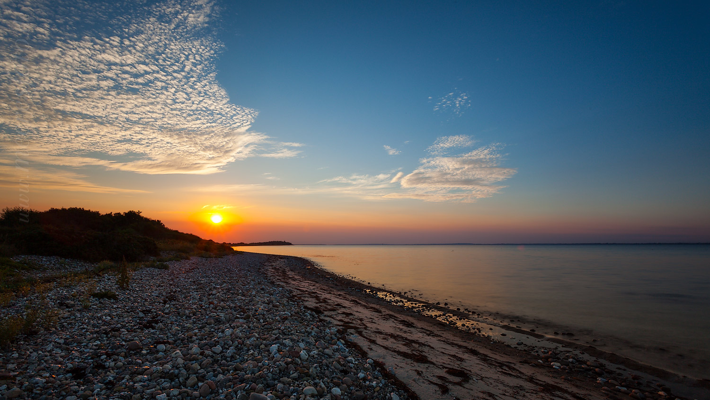 Strand nordsee sonnenuntergang  Falshöft und Geltinger Birk - Besondere Fotografien der Nordsee ...