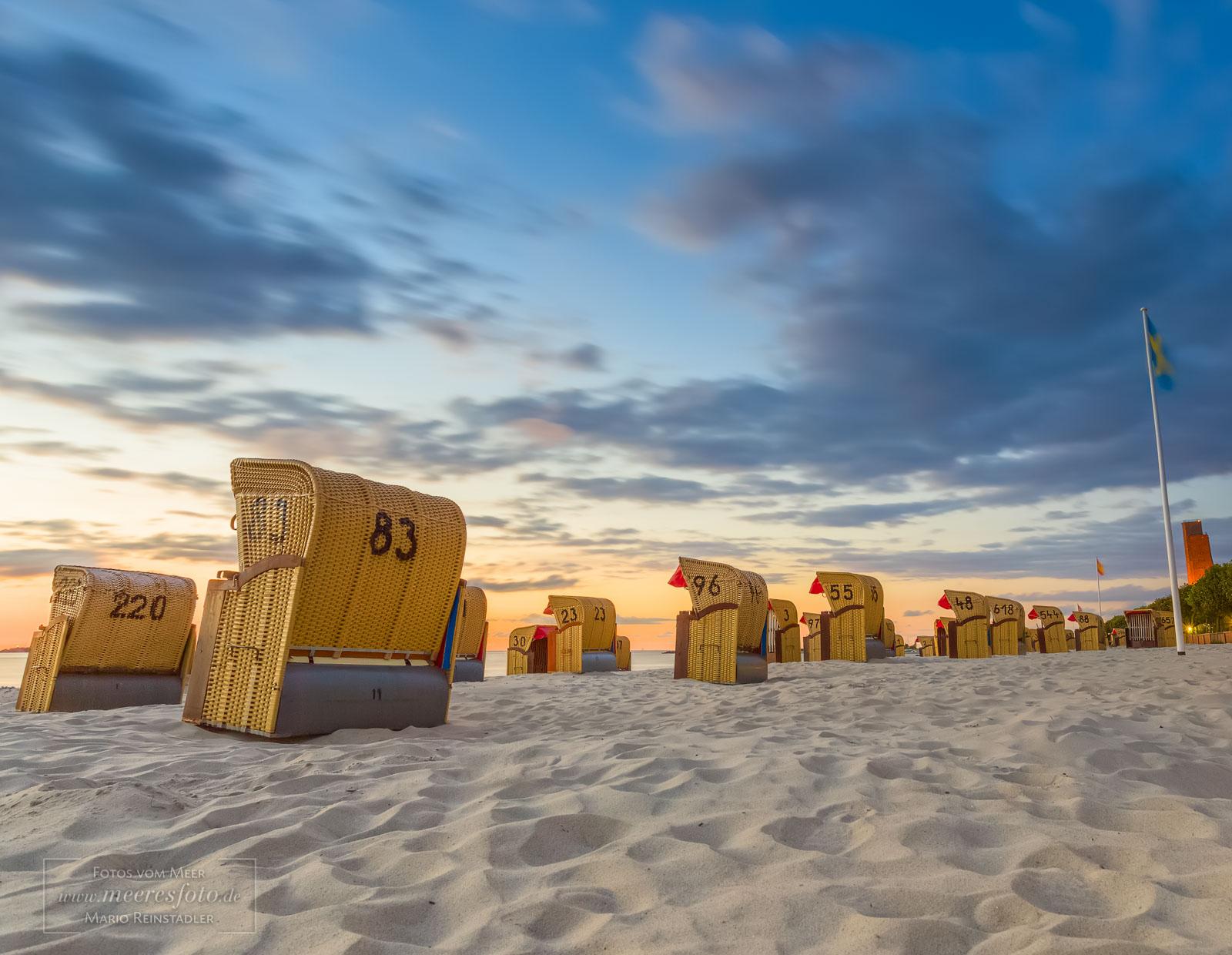 Strand nordsee sonnenuntergang  Laboe - Besondere Fotografien der Ostsee und Nordsee von Mario ...
