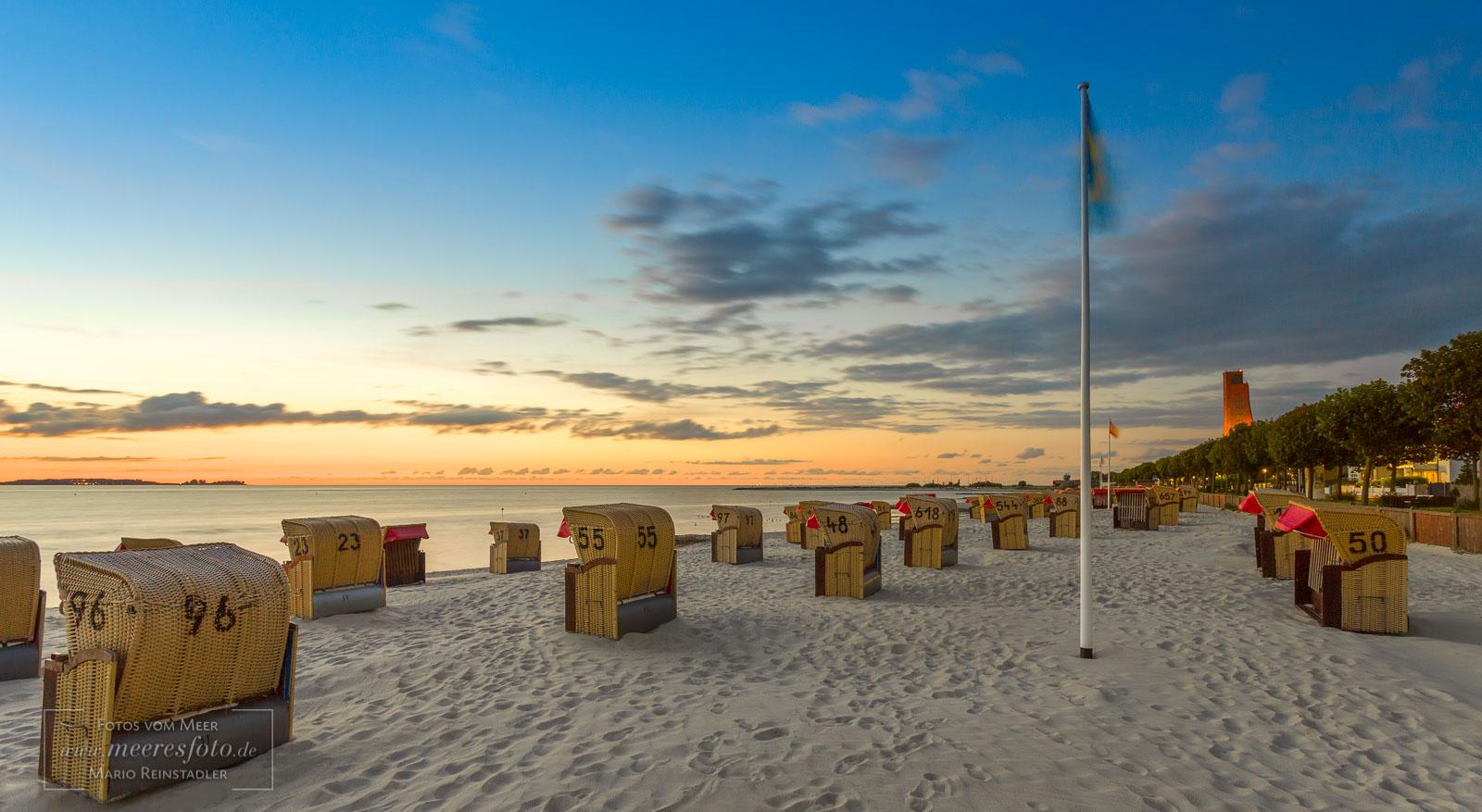 2017 Strandkorb Am Strand